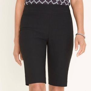 Chico's So Slimming Bermuda Shorts Stretch 0 or S